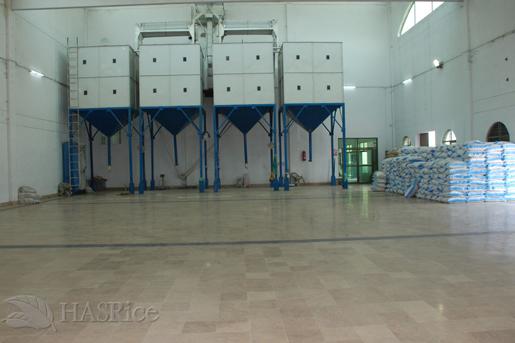 3500 MTons Storage Bin