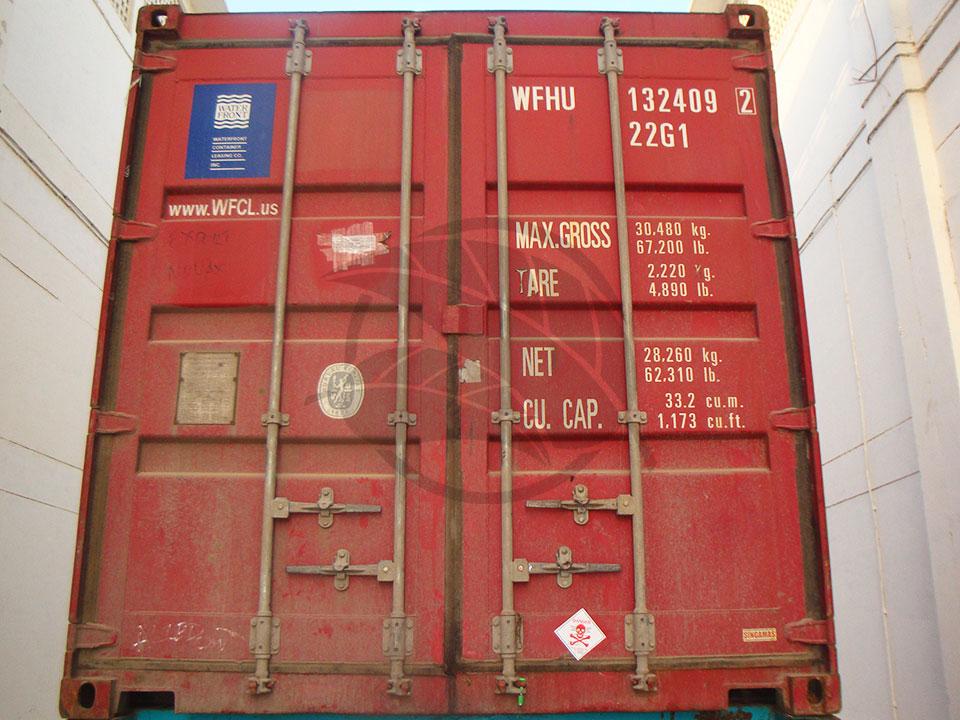 Pakistan 386 Rice Shipment
